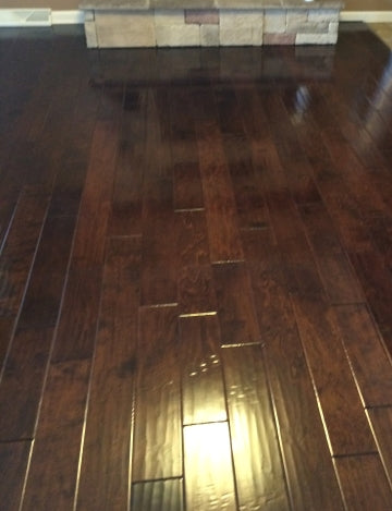 Clean And Shiny Laminate Floor After Using Lamanator Plus