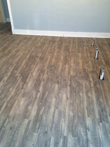 laminate before shine