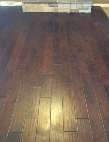 Hazy and Dull Laminate Floor