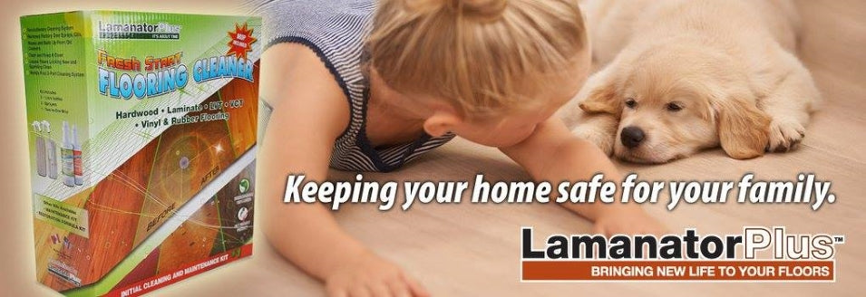 protect and care for your laminate floor with Lamantor Plus
