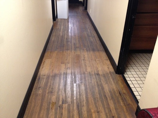 laminate deep cleaning section