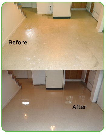 lamanator plus cleaning tile floor_before and after