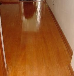 shine laminate after