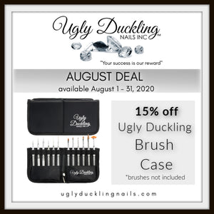 AUGUST DEAL - 15% OFF BRUSH CASE