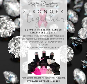 Breast Cancer Awarness Gel Polish Collection