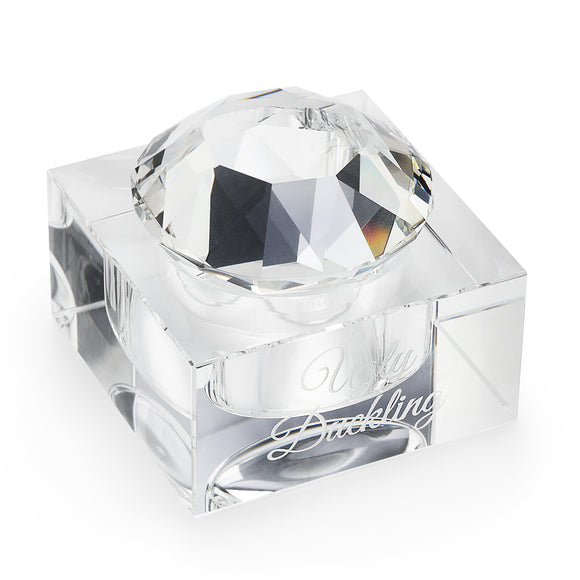CLEARANCE CRYSTAL DAPPEN DISH