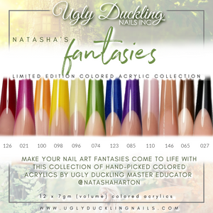 """FANTASIES"" - NATASHA'S COLORED ACRYLIC COLLECTION"