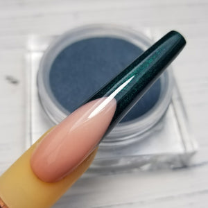 COLORED ACRYLIC POWDER - BLUES & GREENS