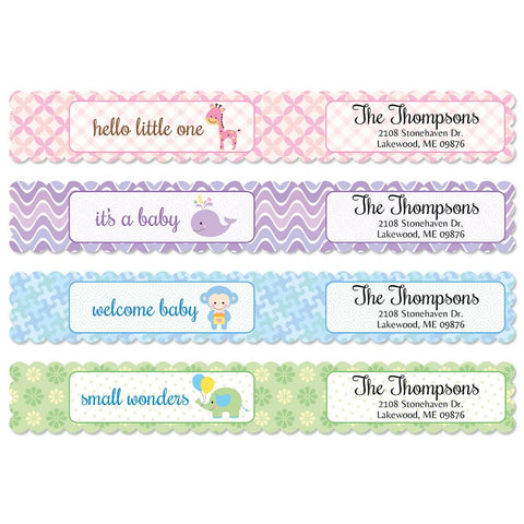 Personalized Wrap Labels