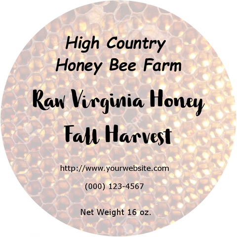 Custom Honeycomb Label