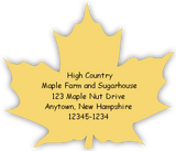 Maple Leaf Label