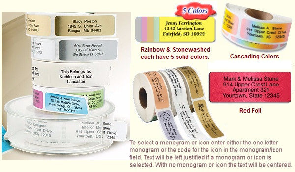 Rolled Labels