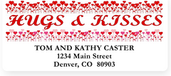 Deluxe Hearts & Hugs Sheet Labels