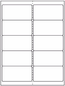 "Mailing/Shipping Sheet Label #45 - 4"" x 2"" - Blank Sheets"