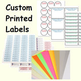 Custom per Sheet Labels