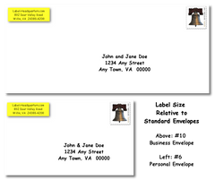 "PR - Traditional Address Label Sheets  (approximately 1 7/8"" x 5/8"")"