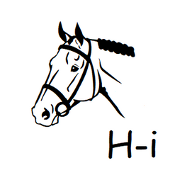 Horse Icon Address Labels on Sheets