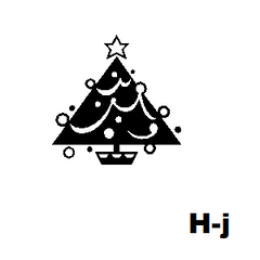 Holiday Icons Address Labels on Sheets