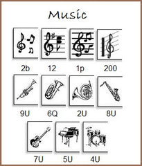 Personalize your labels with music!