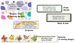 Popular Designer Roll Labels