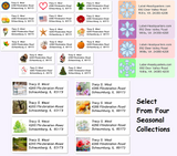 Seasonal Sheet Labels