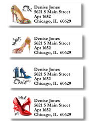 Shoe Themed Sheet Labels