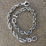 Ouroboros Bracelet With Lobster Clasp - Small Links