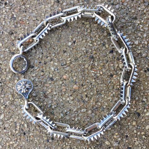 Spiked-Link Bracelet - Large Links
