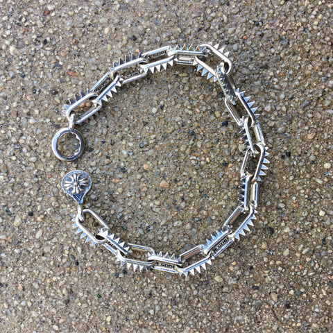 Spiked-Link Bracelet - Small Links