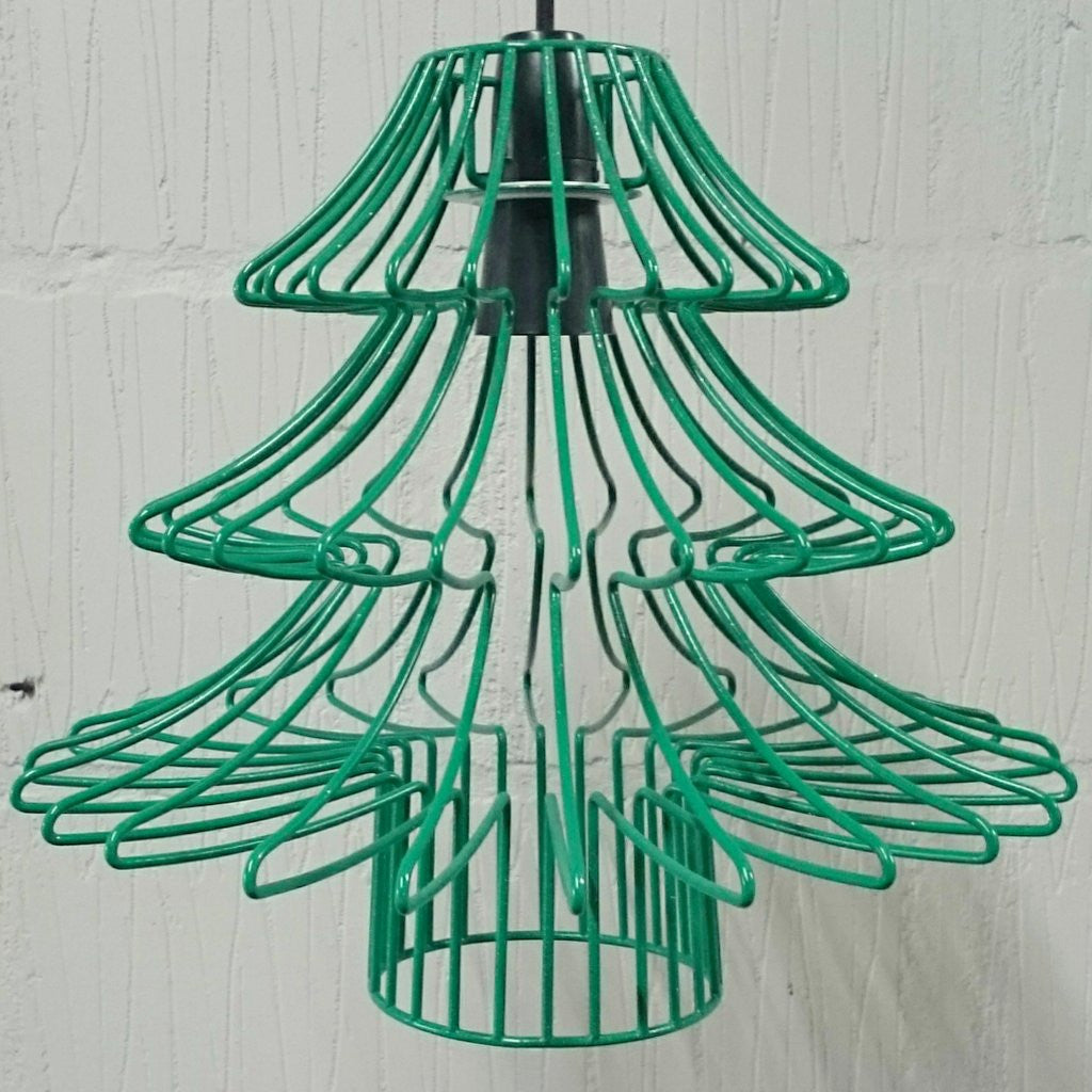 Claus Metal Wire Frame Lampshade Christmas Tree Light Festive ...