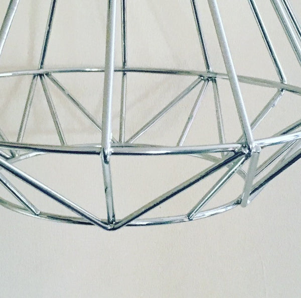 Volta Vintage Industrial Cage Light - HomemakingHeaven  - 9