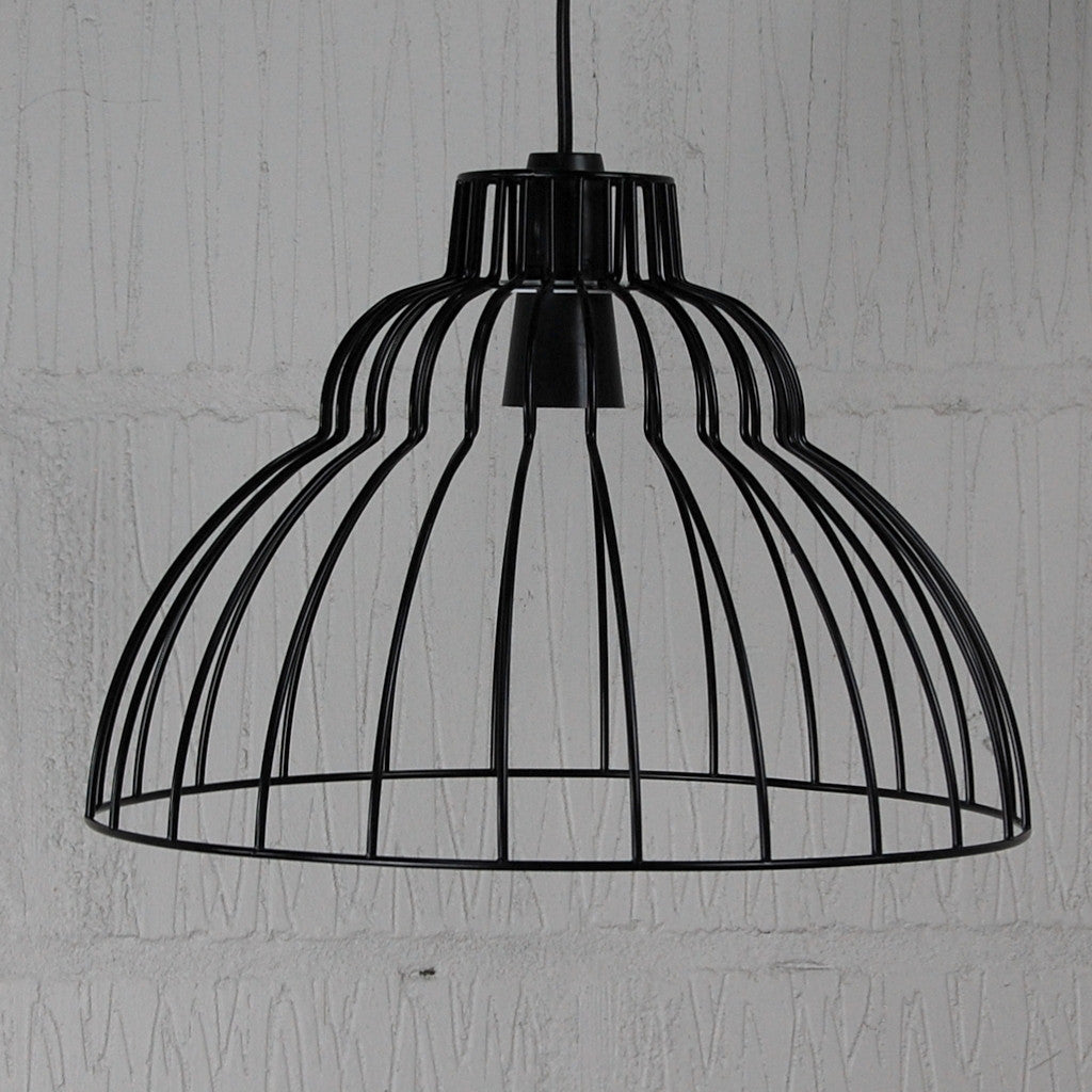 Brunel industrial chic wire metal lampshade light frame brunel vintage industrial light cage homemakingheaven 1 greentooth Gallery