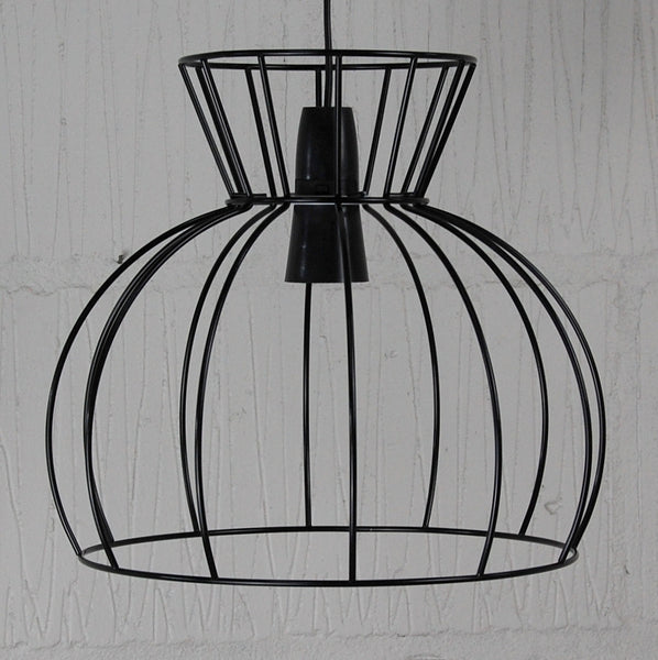 Watt Industrial Wire Cage Lamp - HomemakingHeaven  - 3
