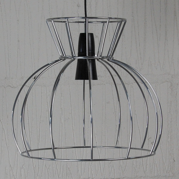 Watt Industrial Wire Cage Lamp - HomemakingHeaven  - 2