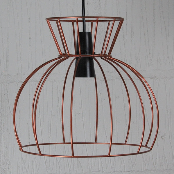 Watt Industrial Wire Cage Lamp - HomemakingHeaven  - 4
