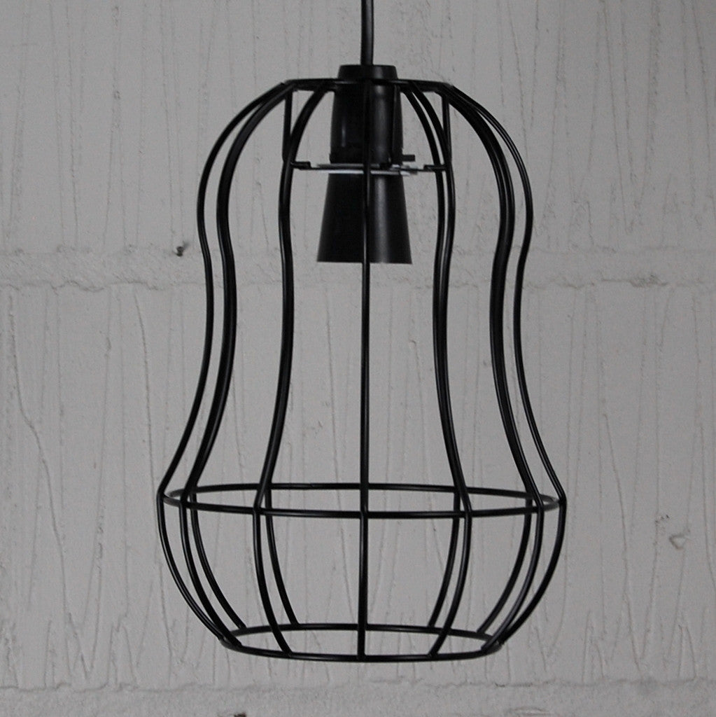 Telford industrial chic wire metal lampshade light frame telford wire light shade homemakingheaven 3 aloadofball Images