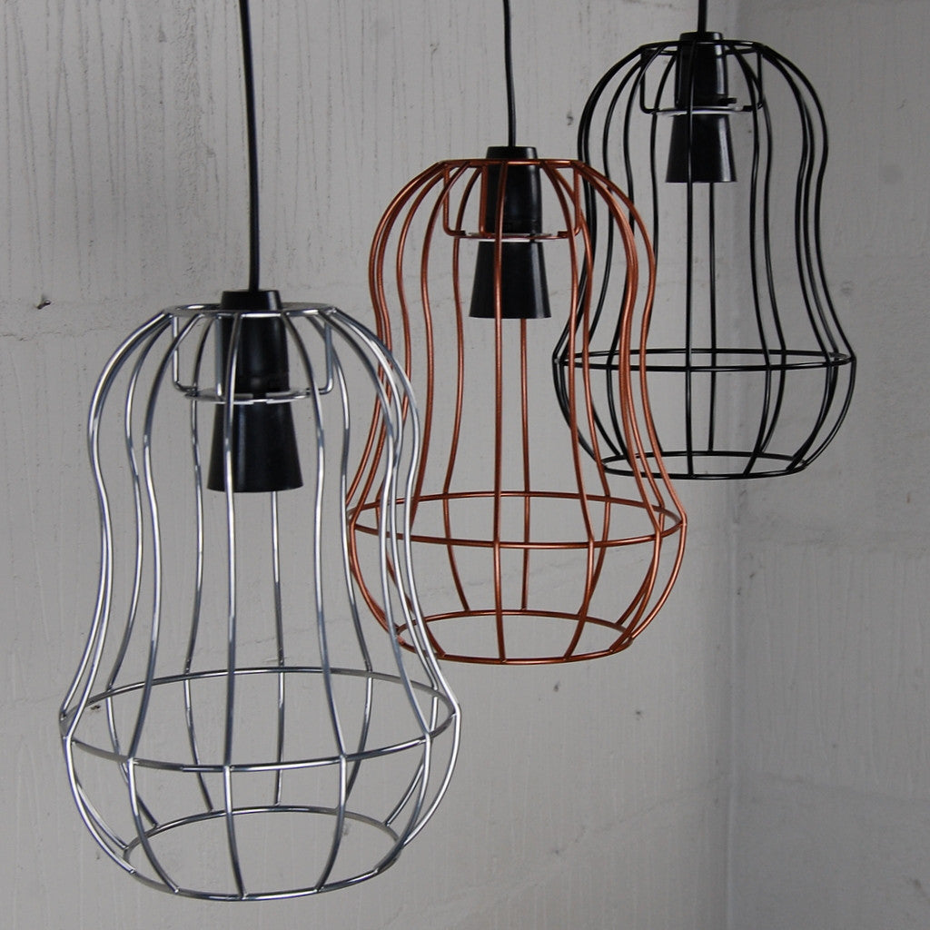 Contemporary use of wire lamp shade picture collection everything telford industrial chic wire metal lampshade light frame keyboard keysfo Choice Image