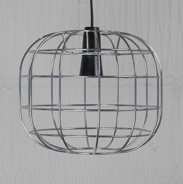 Faraday Industrial Chic Wire Metal Lampshade Light Frame