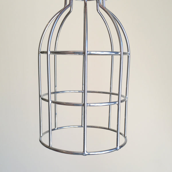 Locke Wire Industrial Cage Pendant Light - HomemakingHeaven  - 5