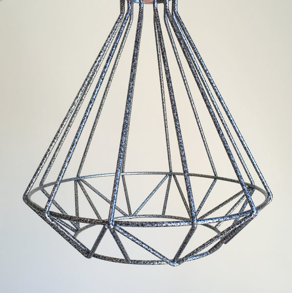 Volta Vintage Industrial Cage Light - HomemakingHeaven  - 6