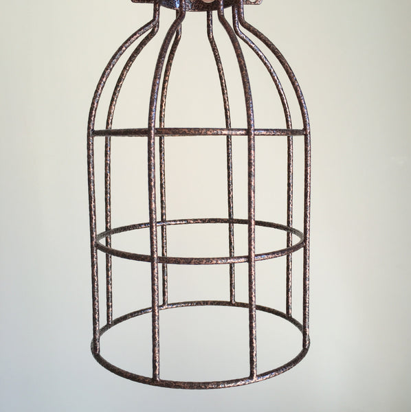 Locke Wire Industrial Cage Pendant Light - HomemakingHeaven  - 7