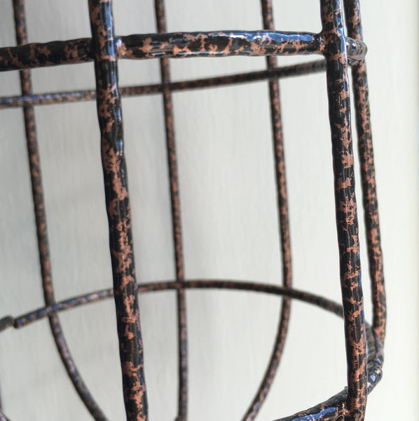 Volta Vintage Industrial Cage Light - HomemakingHeaven  - 8