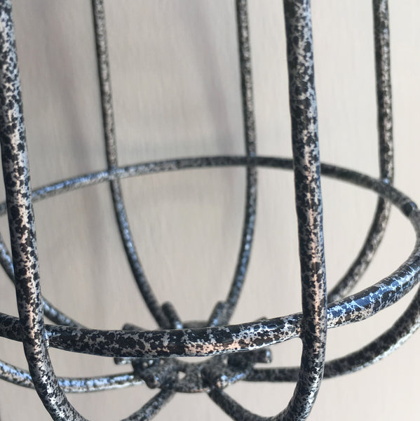 Locke Wire Industrial Cage Pendant Light - HomemakingHeaven  - 9