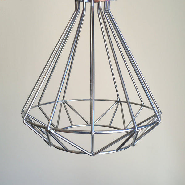 Volta Vintage Industrial Cage Light - HomemakingHeaven  - 5