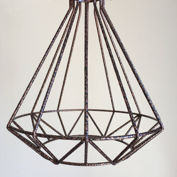 Volta Vintage Industrial Cage Light - HomemakingHeaven  - 7