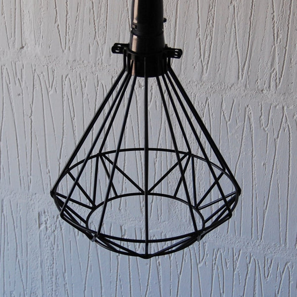 Volta Vintage Industrial Cage Light - HomemakingHeaven  - 2
