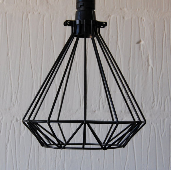 Volta Vintage Industrial Cage Light - HomemakingHeaven  - 1