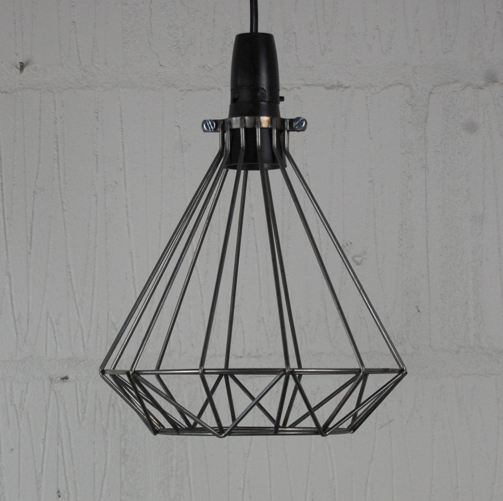 Volta Vintage Industrial Cage Light - HomemakingHeaven  - 4