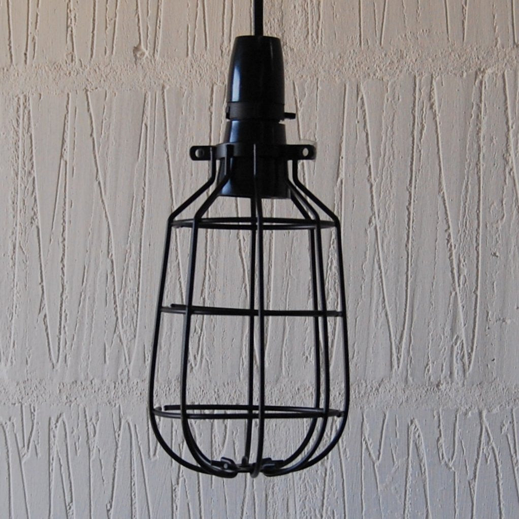 Edison vintage industrial wire cage light shade lamp edison vintage industrial cage lamp homemakingheaven 1 mozeypictures Images