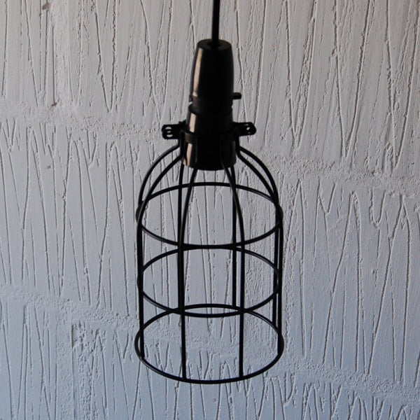 Locke Wire Industrial Cage Pendant Light - HomemakingHeaven  - 2